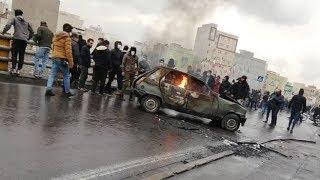 İranda etirazlar: yüzlərlə saxlanılan, ondan çox ölü