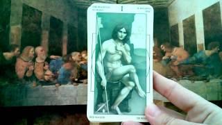 Обзор Таро Мир Леонардо да Винчи. Часть 1