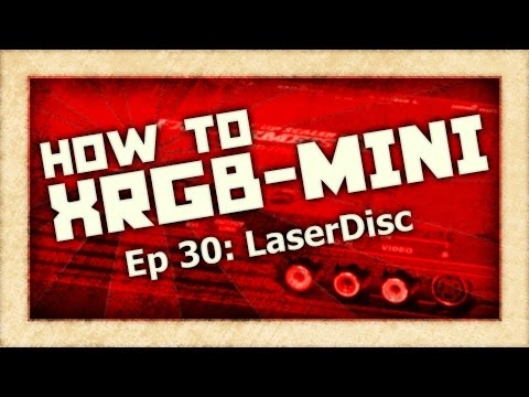 How To XRGB-mini: LaserDisc (Framemeister)