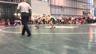 William Koll Cornell University won by fall over Ronnie Perry Lock Haven