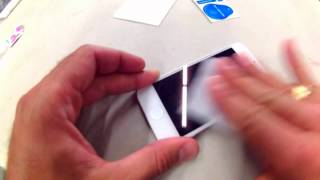 How to Install Tempered Glass Screen Protector on iPhone 5S