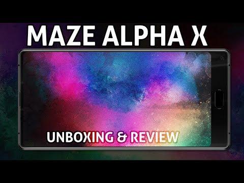 Můj nový telefon - levný Android Maze Alpha X - unboxing a recenze