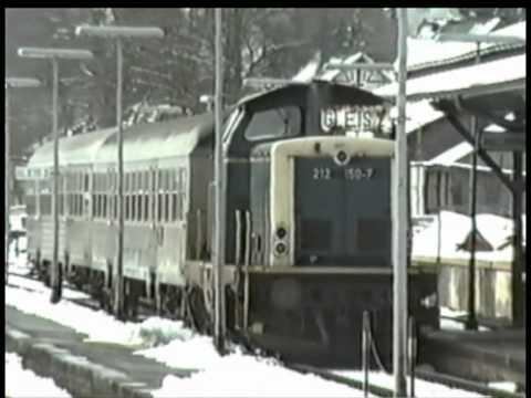 Die Baureihe 212 auf der Rothaarbahn