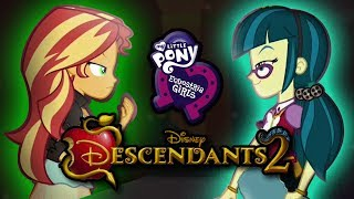 Equestria Girls- Descendants 2 (PARODY Trailer)