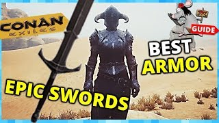 CONAN EXILES Black Keep Run - How To Get Silent Legion Armor + Tellith Weapons