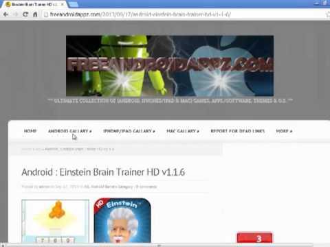 einstein brain trainer iphone