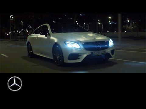 Mercedes Benz  E Class Coupe Купе класса E - рекламное видео 3