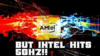 Why Ryzen cant hit 5GHZ and why it doesn't matter!