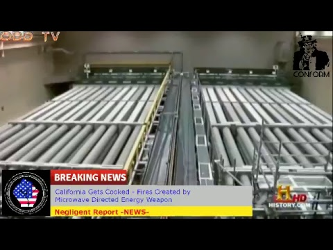 Directed Energy Weapon - California gets Cooked - смотреть