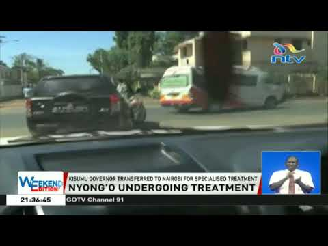 Governor Anyang' Nyong'o undergoes treatment in Nairobi