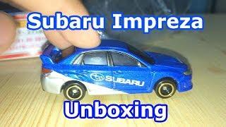 Tomica Toy Car Unboxing   Subaru Impreza WRX STI 4door Group R4