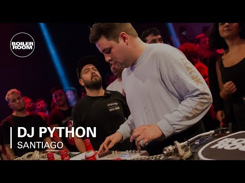 DJ Python's Deep Reggaeton Live Set | Boiler Room BUDx Santiago