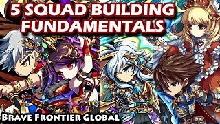 5 Squad Building Fundamentals (Brave Frontier Global)