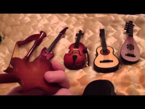 Мои мини музыкальные инструменты видео