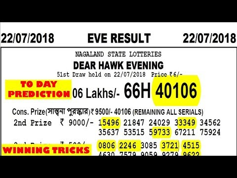 Win 26 lakhs nagaland lottery with my prediction/tricks