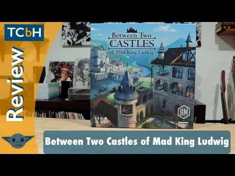 The Cardboard Herald Reviews - Between Two Castles of Mad King Ludwig