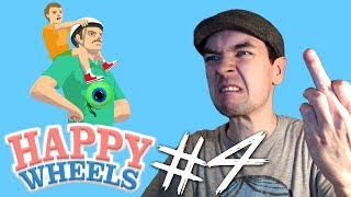Happy Wheels - Part 4 | LEAVE BILLY BEHIND!!