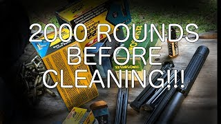 2000 ROUND SILENCER CLEANING TEST