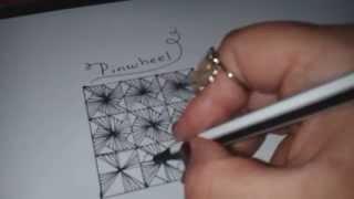 How To Draw AMALEA Zentangle Pattern