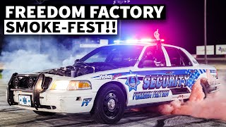 Partying at the Freedom Factory With Vaughn Gittin Jr. And Chelsea Denofa