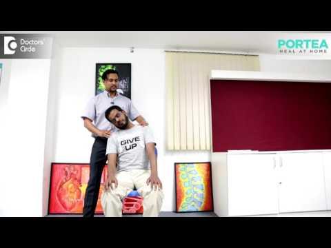 Simple flexibility exercises for Cervical Spondylosis | Portea Medical