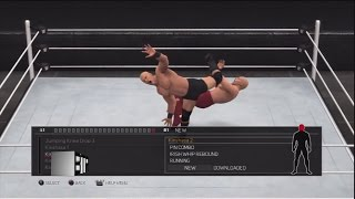 WWE 2K17: All New Moves Including DLC (PS3/360)