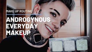 EVERYDAY ANDROGYNOUS/TOMBOY MAKEUP | TUTORIAL