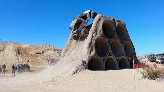 Toyota Hits Tube Obstacle At Tierra Del Sol 2018