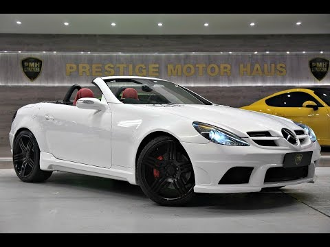 Mercedes-Benz SLK350 R171 Roadster | Black Edition
