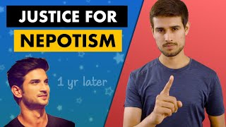 Sushant Singh Rajput | Real Solution of Nepotism | One Year Later | Dhruv Rathee