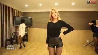 [韓中字HD]AOA - Miniskirt 迷你裙 짧은 치마 Dance Practice Eye Contact Ver MV