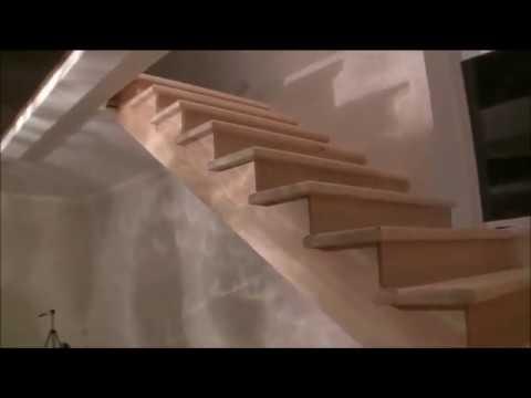 Лестница. Как я креплю ступени и подступни из фанеры