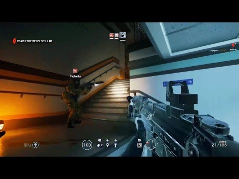 OUTBREAK ZOMBIES MODE GAMEPLAY - Rainbow Six Siege