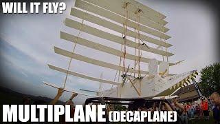 Flite Test | Will it Fly? - Multiplane (Decaplane)