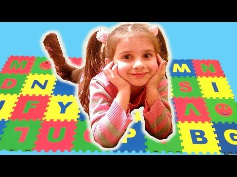 ABC Song | Pretend Play Learning English  Alphabet / Toys & Nursery Rhyme Songs