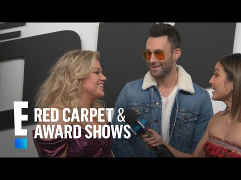 Adam Levine Will Appear Nude On Kelly Clarkson's Show?! | E! Red Carpet & Award Shows Mp3