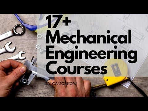17+ Mechanical Engineering Courses (Affordable) - YouTube