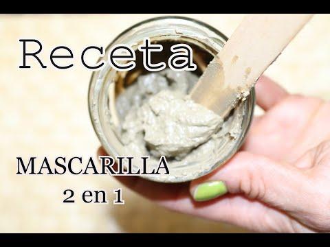 Como hacer una MASCARILLA EXFOLIANTE Y LIMPIADORA (2 en 1 receta con arcilla verde)