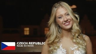 Natalie Kotkova Contestant from Czech Republic for Miss World 2016 Introduction