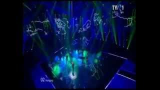 Eurovision 2012 Final - (Hungary) - Compact Disco - Sound Of Our Hearts