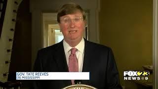Gov. Reeves signs legislation to change state flag