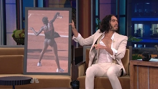 Russell Brand & Venus Williams Behind - Full Interview