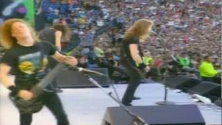 Metallica - Sad But True Live Wembley 1992