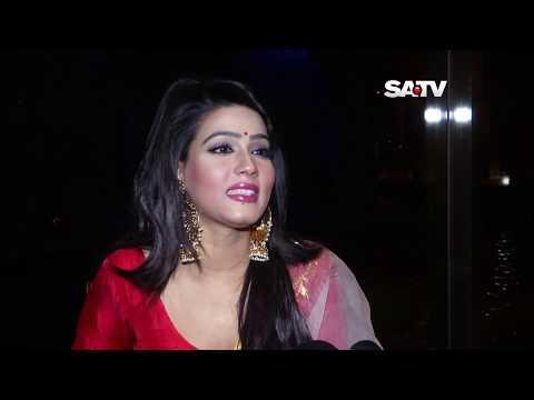 BD Film Heroine MAHIYA Mahi in Ranger Mela (SATV)