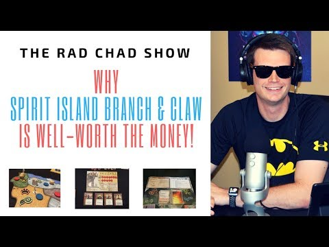 Why Spirit Island Branch & Claw is Well Worth the Money- The Rad Chad Show [Review]