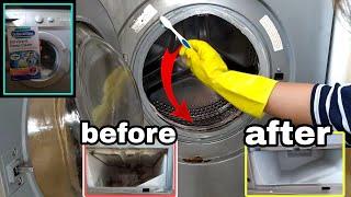 How to clean WASHING MACHINE | Dr.Beckmann | PINK STUFF & ZOFLORA