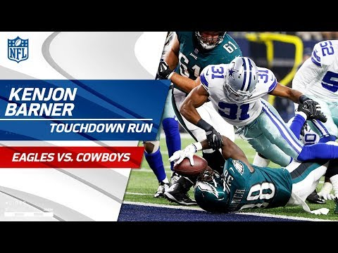 Wentz's Perfect Opening Drive Capped Off by Barner's Strong TD Run! | Eagles vs. Cowboys | NFL Wk 11