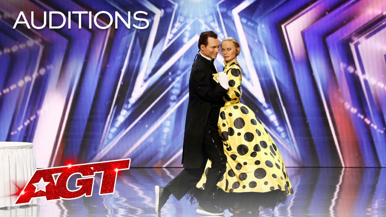 Pasha and Aliona SURPRISE The Judges With an Unexpected Performance - America's Got Talent 2021 thumbnail