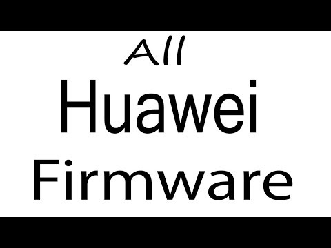 How To Flash Huawei (UPDATE APP) Firmware Without SD Card