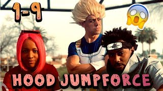 Naruto vs Goku ( Jumpforce ALL Parts 1-9 ) Hood Anime
